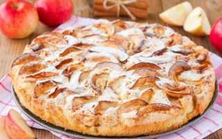 Ленивая шарлотка с яблоками в духовке, пошаговый рецепт