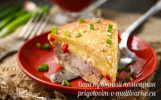 Пирог с мясом – легче не бывает: очень вкусно и просто