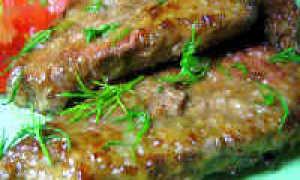 Как пожарить говяжью печень, чтобы она была мягкой и сочной на сковороде
