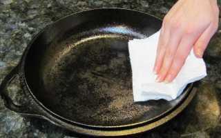 Почему чугунная сковорода ржавеет внутри, что делать: причины, методы чистки сковороды, профилактика