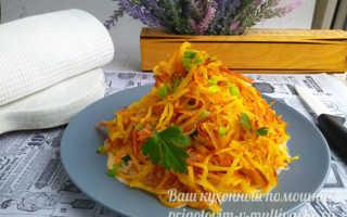 """Салат """"Муравейник"""" с корейской морковью, рецепт с фото"""