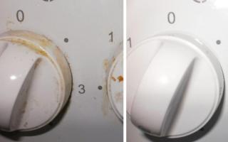 Как очистить ручки у плиты, делюсь с вами очень простым способом