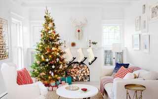 Как украсить комнату на Новый год 2020 своими руками: идеи декора