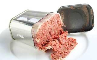 Как хранить тушенку в герметичной банке и после вскрытия в холодильнике и при комнатной температуре