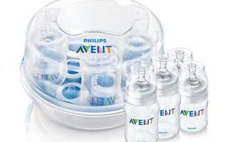 Как стерилизовать в микроволновке детские бутылочки просто и чисто