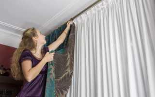 Как погладить шторы из разных типов тканей