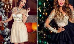 Какое платье одеть на Новый год 2020: фото, идеи