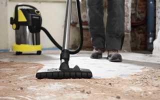 Как убрать квартиру после ремонта своими руками