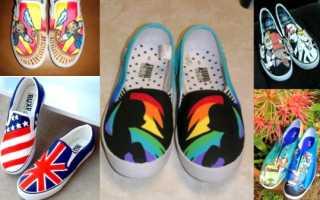 Превращаем обувь в дизайнерскую – идеи декорирования обуви на выпускной: фото