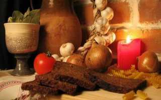 Рождественский пост 2020: календарь питания по дням для мирян (советы)