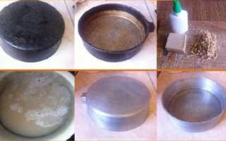 Как очистить сковородки от толстого слоя нагара в домашних условиях: способы