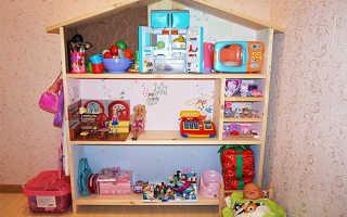 Кукольный домик своими руками: самые интересные идеи из картона, дерева и других подручных материалов