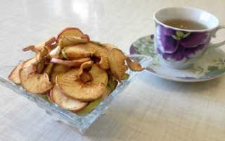 Как сушить яблоки в домашних условиях на зиму