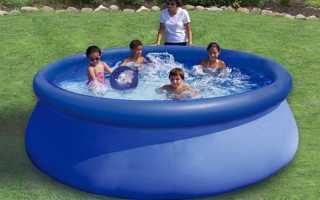 Как заклеить надувной бассейн в домашних условиях