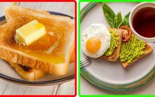 Топ 6 худших продуктов и блюд на завтрак: важно знать