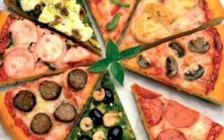 Тесто для пиццы тонкое и мягкое как в пиццерии, рецепт с фото пошагово