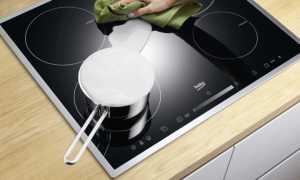 Как и чем очистить стеклокерамическую плиту от нагара