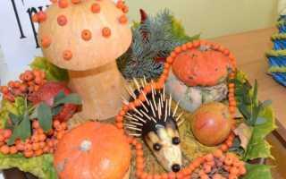 Поделки из овощей и фруктов для выставки в детском саду или в школе: идеи простых и сложных фигур