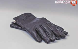 Уход за кожаными перчатками в домашних условиях: чистка и стирка перчаток, рекомендации по уходу