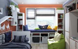 Топ 7 лучших решений для маленькой детской комнаты: фото, идеи