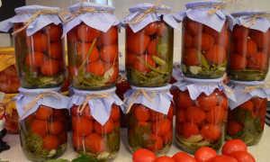 Маринад для помидоров на 1 литр воды с 9% уксусом