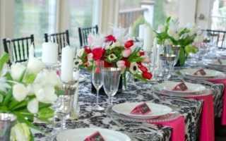 Сервировка стола на День рождения (фото): в домашних условиях, идеи