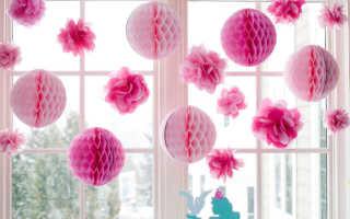 Новогодние шары из бумаги своими руками, пошаговая инструкция, схемы, шаблоны