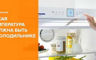 Какая температура должна быть в холодильнике: оптимальные показатели для хранения различных продуктов